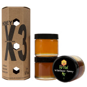 Honey X3 (3x 3 ounce jars)