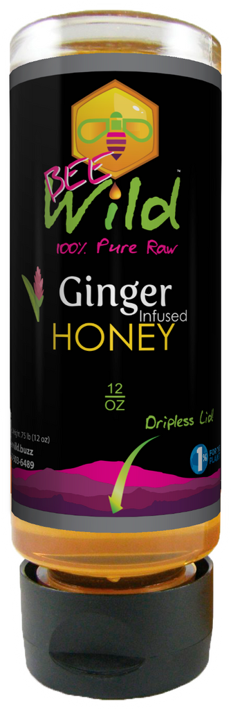 Ginger Infused Honey