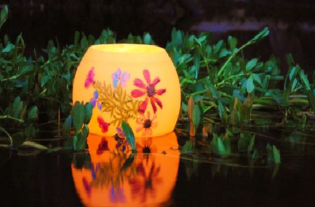Summer Bouquet mini Honeypot Luminary