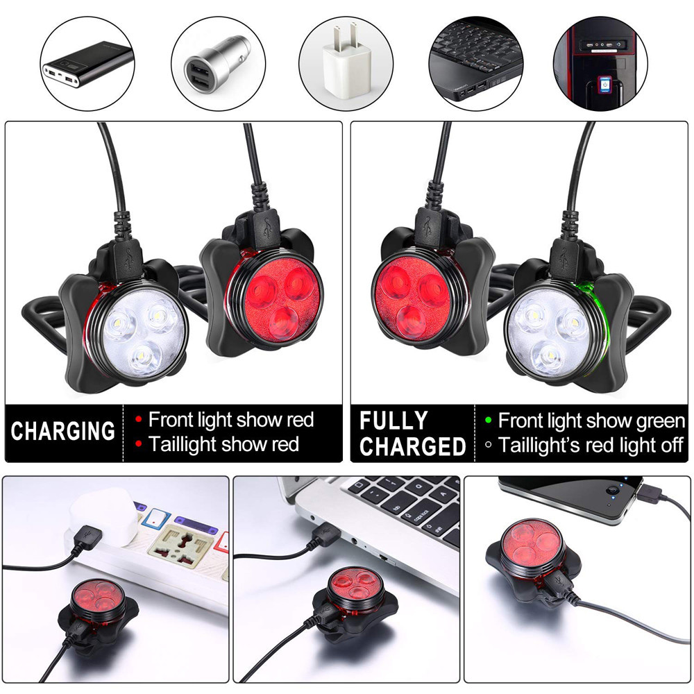 Smart Rechargeable Bicycle Light