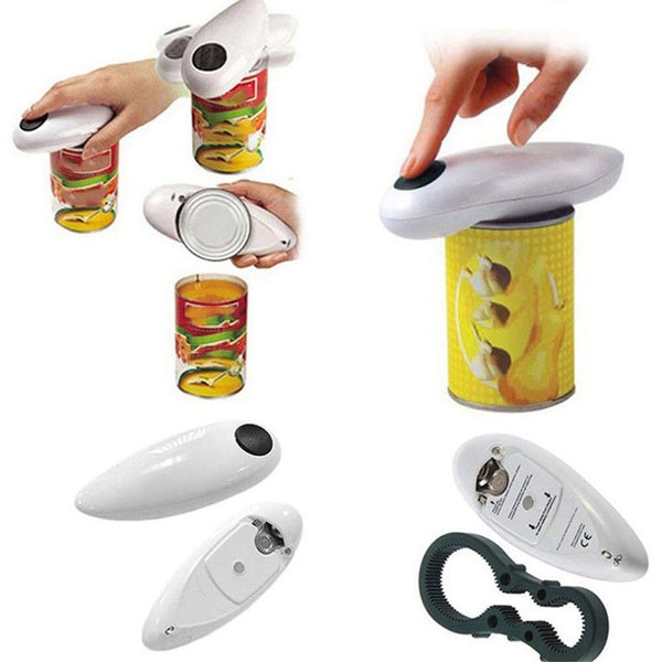 Automatic Electric Can Opener - Cordless Tin Opener