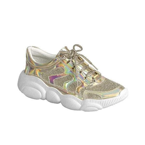 kovogue Shiny Mesh Sneakers