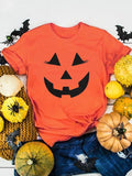 kovogue Halloween Pumpkin Cute Long Sleeve Sweatshirt