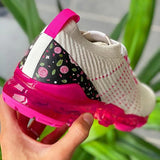 kovogue Air Flower Woven Fashion Sneakers
