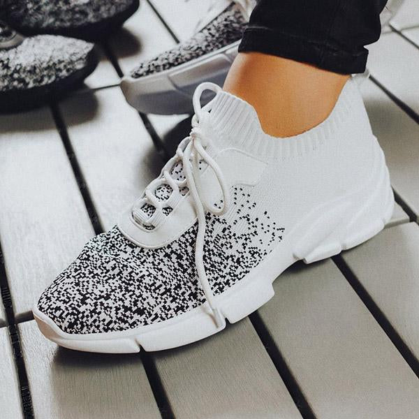 kovogue Gradient Breathable Fashion Casual Sneakers