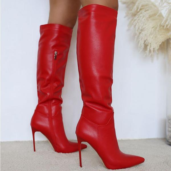 kovogue Straight Over The Knee Fashion Boots