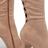 kovogue Zip Back Over-The-Knee Boots