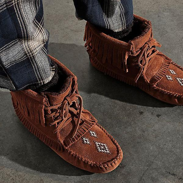 kovogue Harvester Lined Moccasin Boots