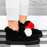 kovogue Sunset Pom Moccasins