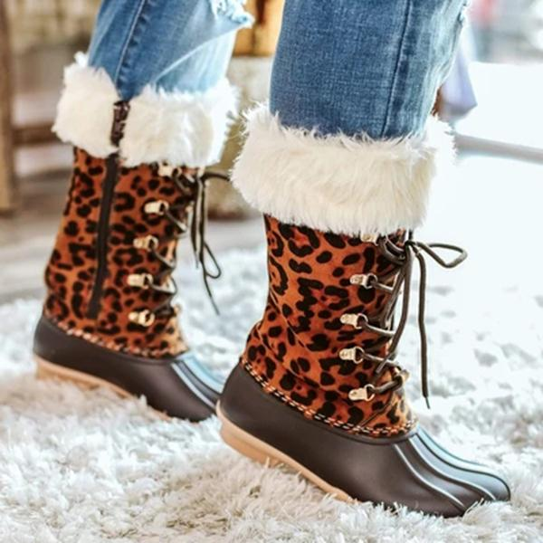 kovogue Brown Duck Boots