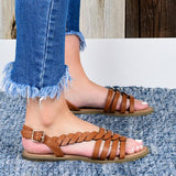 Kovogue Cute Braided Cushioned Sandals