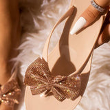 kovogue Summer Daily Bow Simple Slippers