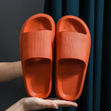 Kovogue 2021 New Simple Platform Slippers