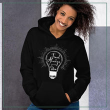 "Load image into Gallery viewer, Unisex Hoodie up to 5XL ""Travel is always a good idea"""