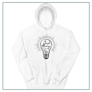 "Unisex Hoodie up to 5XL ""Travel is always a good idea"""