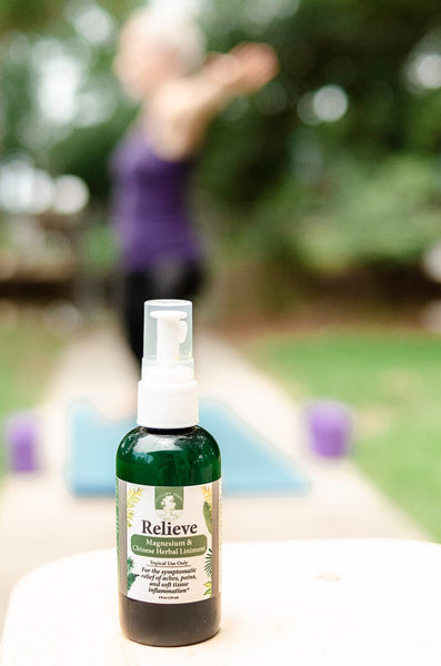Relieve: Topical Magnesium and Chinese Herbal Liniment Spray