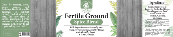 Fertile Ground: Spice Blend