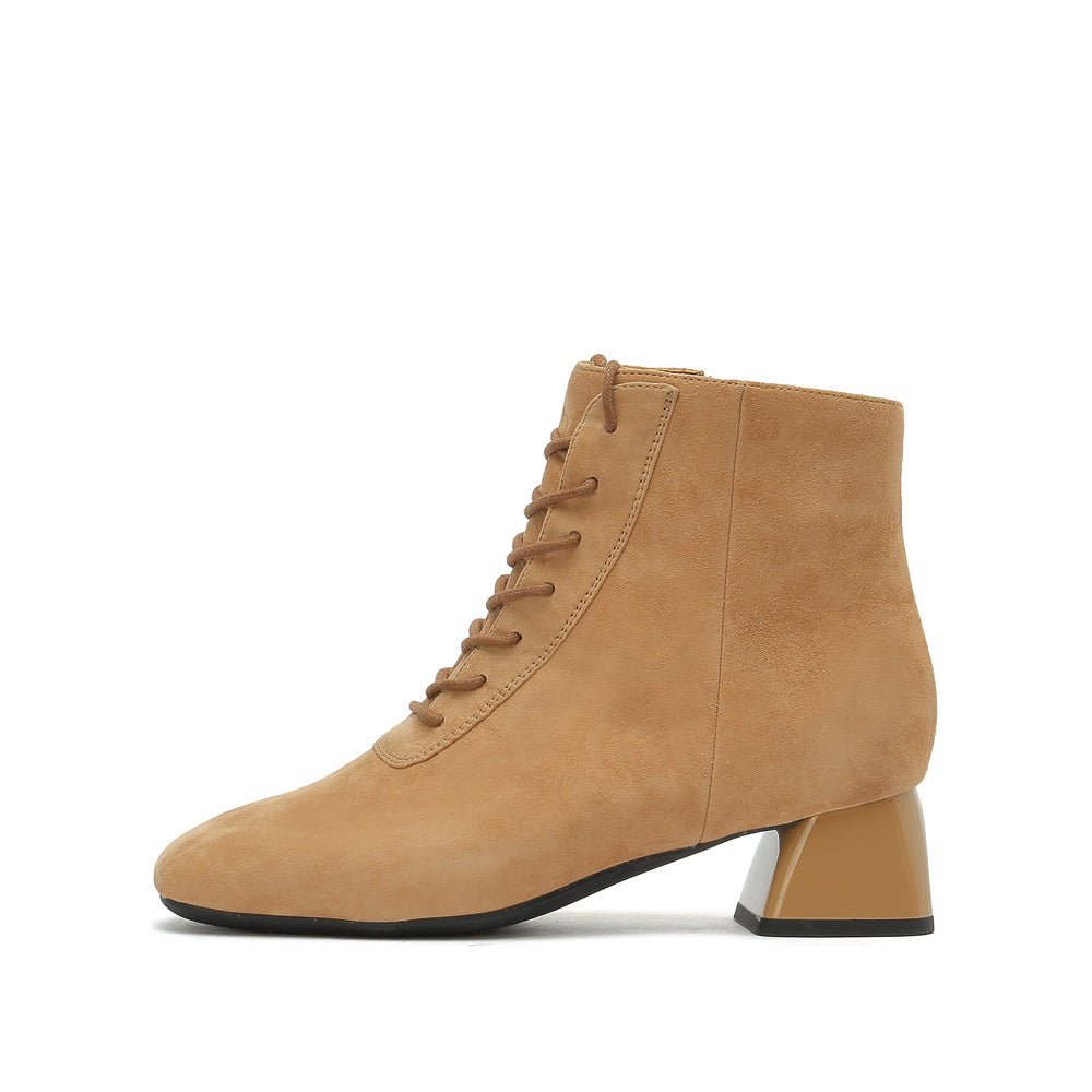 Suede Lace Up Boots