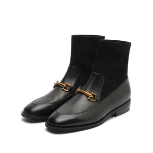 Calf Loafer (with Socks style)