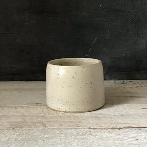 BOWL -  diameter 9 cm, speckled bowl, ceramic basics, rustic pottery bowl, food photography, simplify