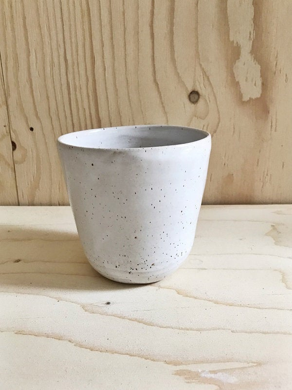 PLANTER  - height 12 cm, modern rustic, simplify