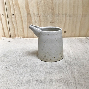 JUG WITH SPROUT - modern rustic, ceramic basics, simplify