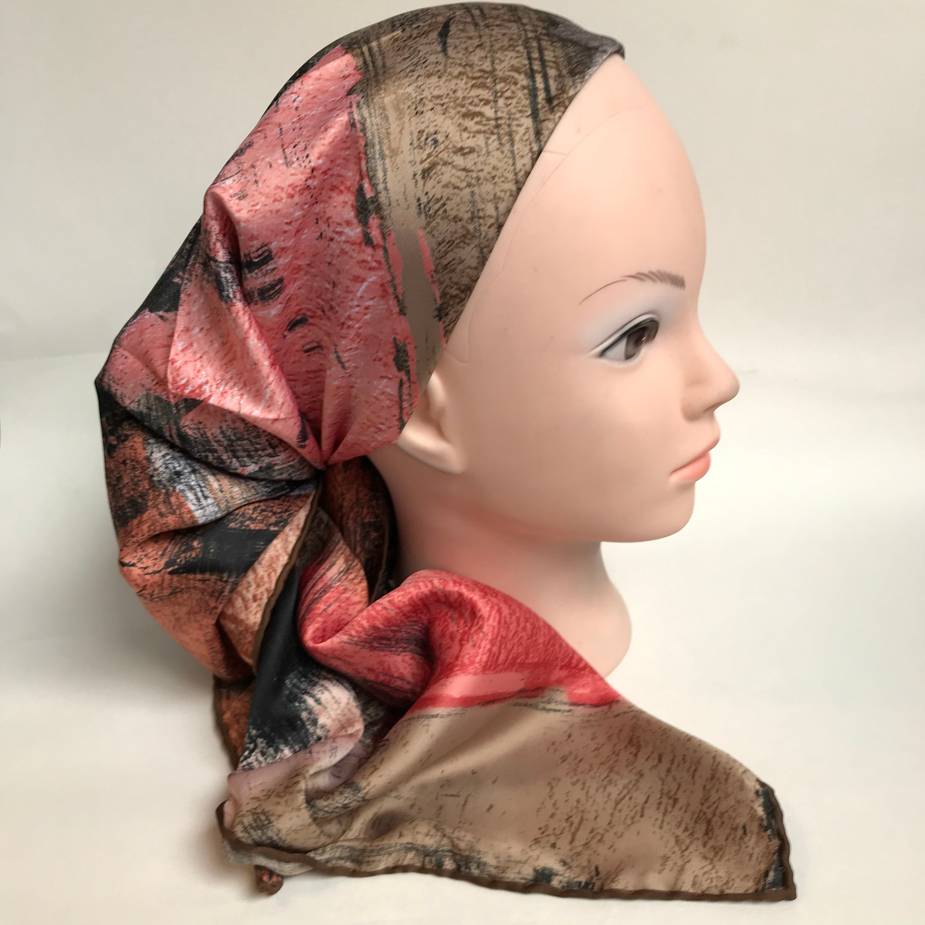 The Viennese Satin Scarf
