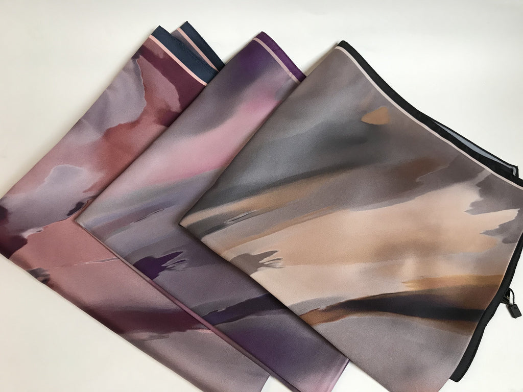 The Haze Satin Scarf