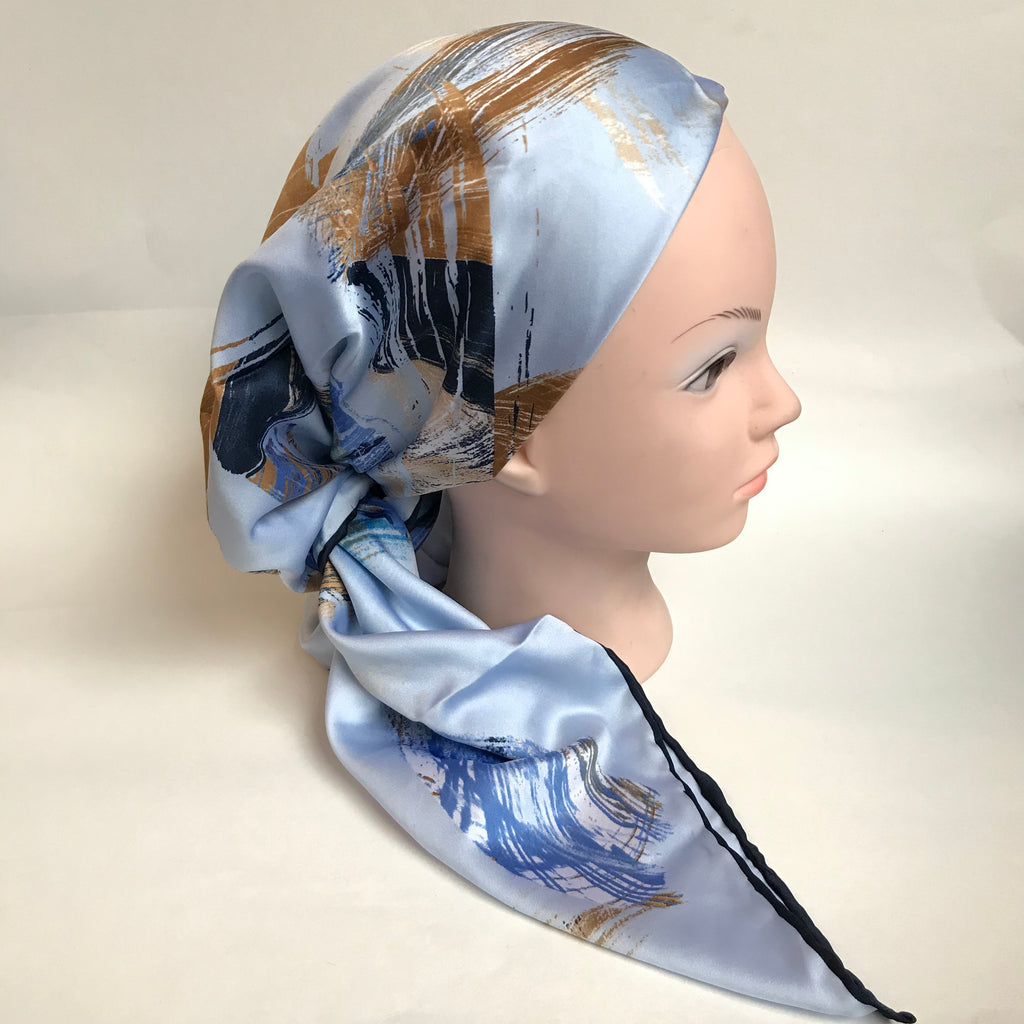 The Stella Satin Scarf