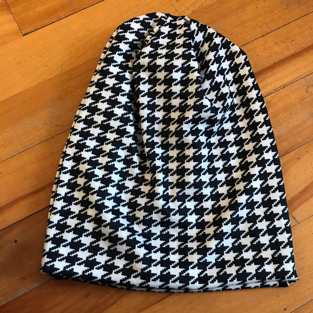 The Houndstooth Beanie