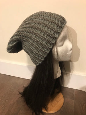 The Leathery Winter Beanie