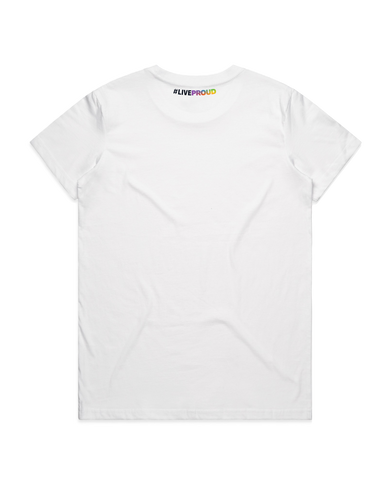 #LiveProud Women's V-neck Tee