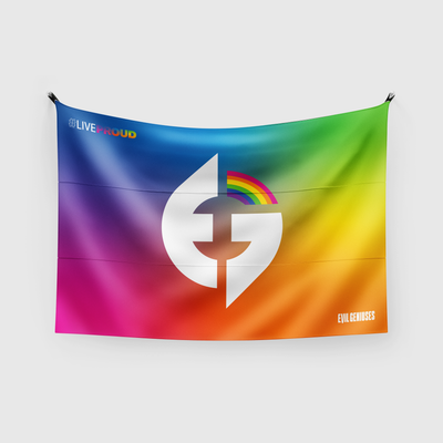 #LiveProud Flag