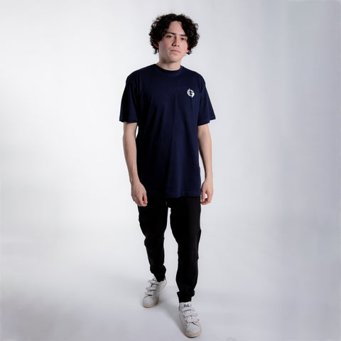 Badge of Honor Tee (Navy)