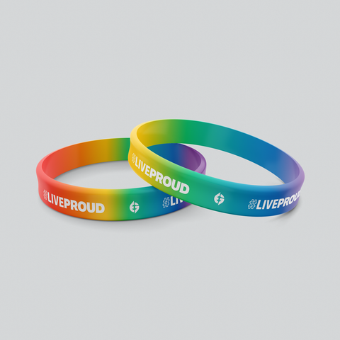 #LiveProud Wristband