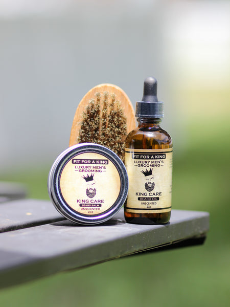 King Care Beard Oil and Balm (Scented/Unscented)
