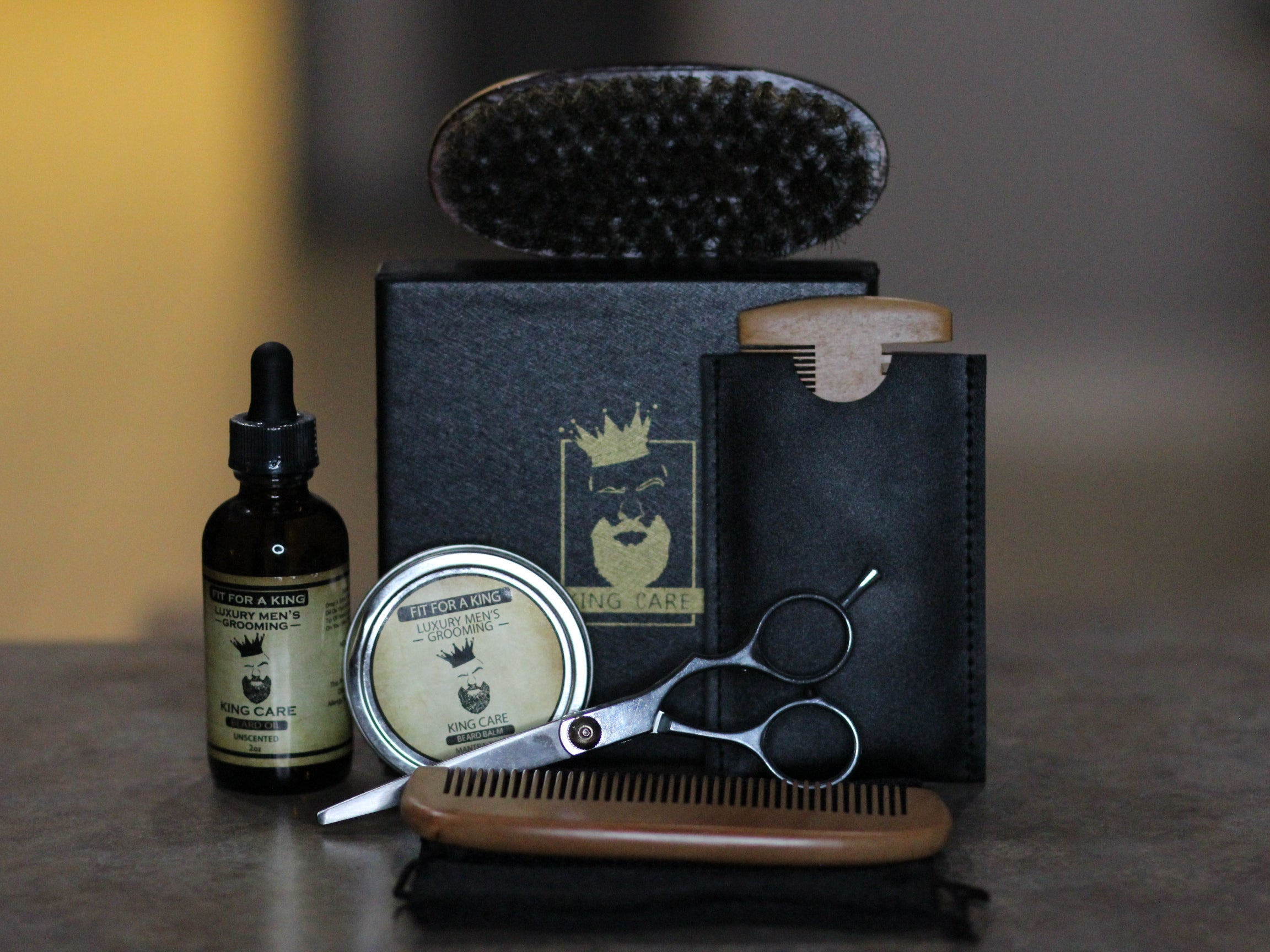 A Kings Grooming Kit