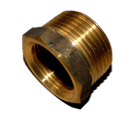 15 mm to 20mm Brass Adaptor - Country Outdoor Supplies