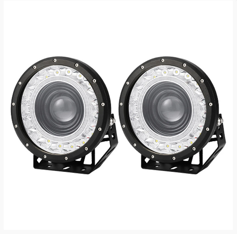 Cree 9inch LED Driving Light IP68 58000 Lumens EURO SPOT OFFROAD WORK UTE SECKIL - Country Outdoor Supplies