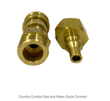 Country Comfort Gas and Water Quick Connect - Country Outdoor Supplies