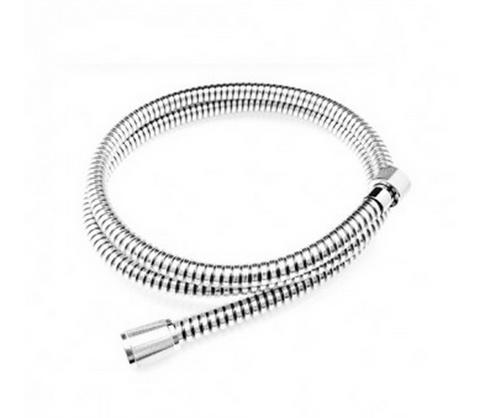 1.5 Metre Chrome hose - Country Outdoor Supplies
