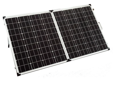 12V 120W SOLAR FOLDING CARAVAN CAMP PANEL KIT POWER MONO CHARGING - Country Outdoor Supplies