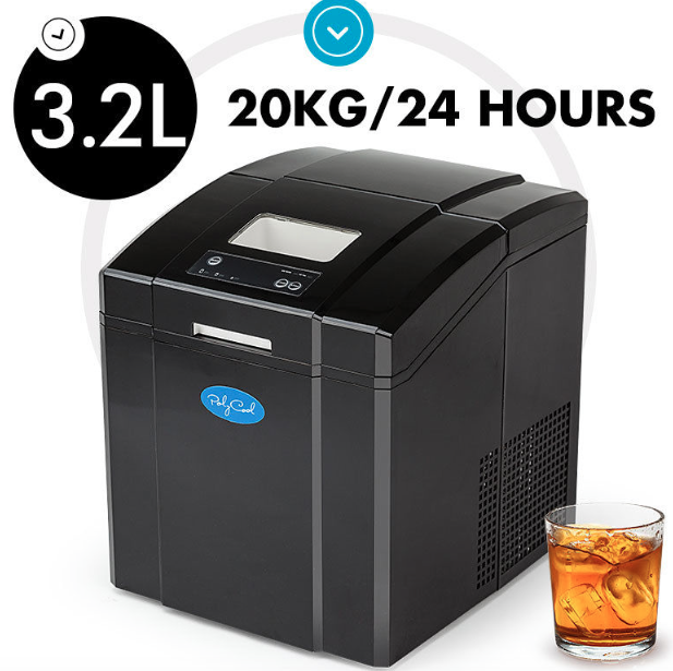3 2l Portable Ice Cube Maker Machine Automatic Country