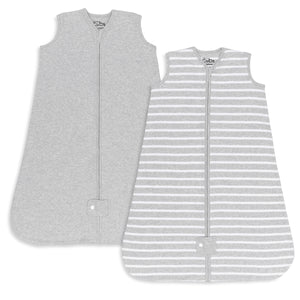 Sleep Bag, Sack, 2 Pack, Grey