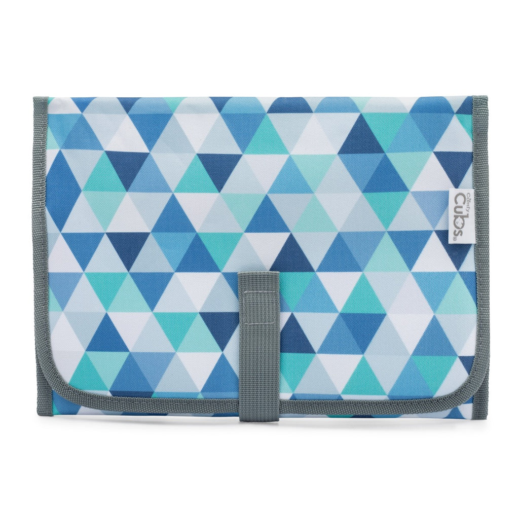 Compact Changing Pad Blue