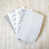 Burp Cloths Grey