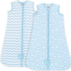 Sleep Bag, Sack, 2 Pack, Blue