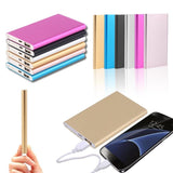 Ultrathin Power Bank 12000mah Portable USB Battery Charger