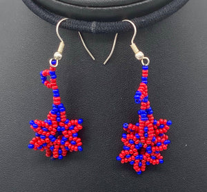 Collection of small beaded earrings