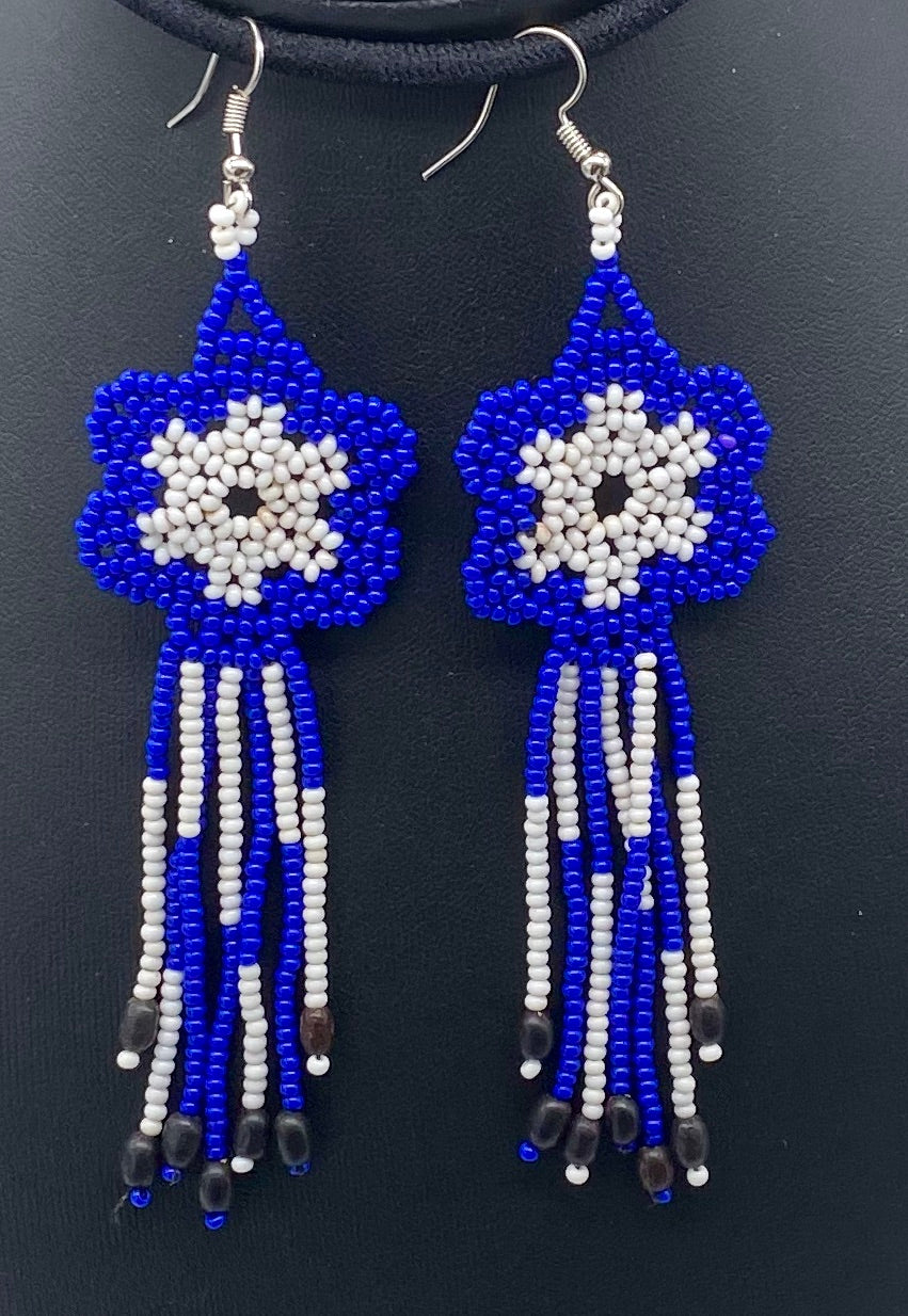 royal blue and white sun catcher